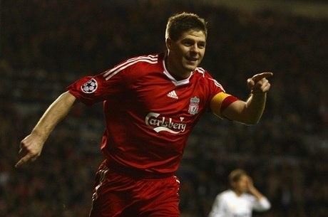 Gerrard marcou sete gols na Liga dos Campeões de 2008-09