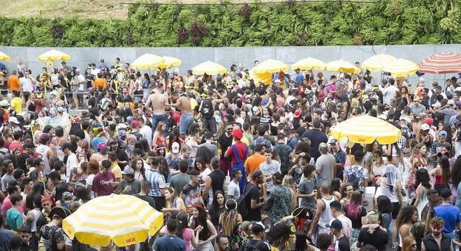 Avenida 23 de Maio concentrou o maior público: 2,6 milhões de foliões