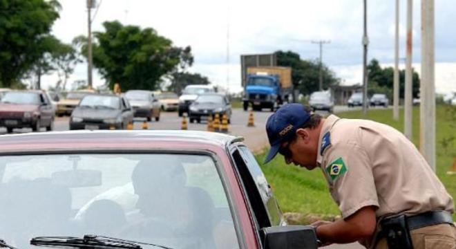 Foram autuados 1.497 motoristas por embriaguez ao volante
