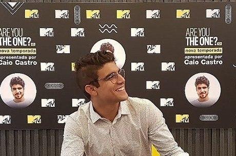 Caio Castro vai virar apresentador da MTV