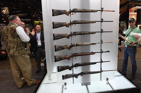 Convenção de armas em Las Vegas