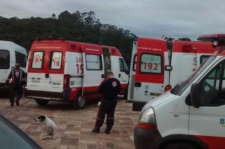 Alguns idosos foram levados para hospitais da região