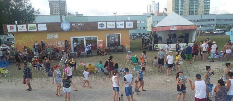 Record TV RS celebra o sucesso de mais uma cobertura de Verão em Tramandaí