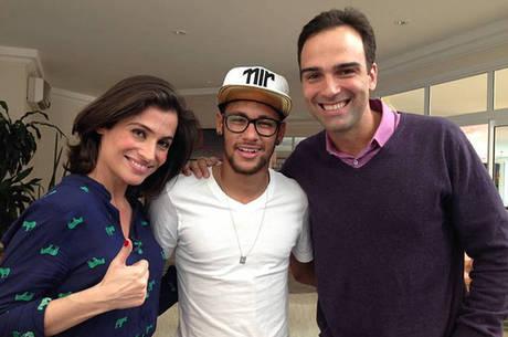 Neymar era tratado como um rei pela Globo