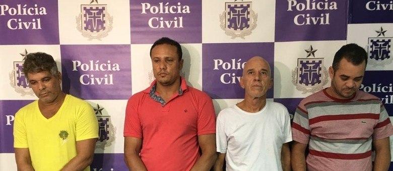 Suspeitos foram apresentados nesta segunda-feira (19), em coletiva de imprensa