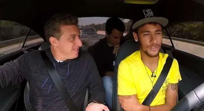 A Globo fazia o que queria com Neymar. As demais emissoras eram esquecidas