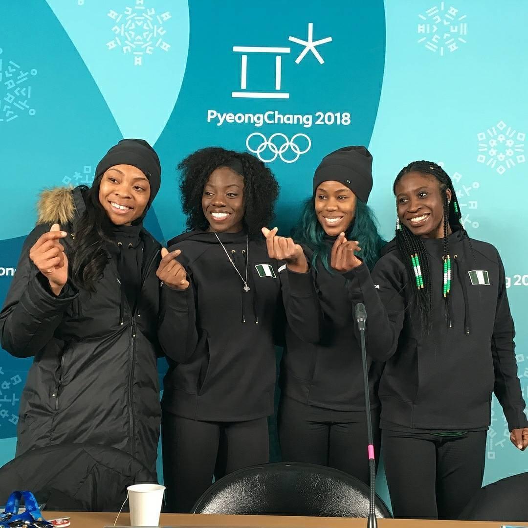 35aa376e99210 ... As atletas costumam dizer que querem expandir as barreiras geográficas  com a participação nigeriana nas Olimpíadas ...