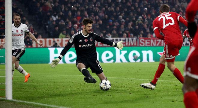 O primeiro gol de Mueller, Bayern 1 X 0