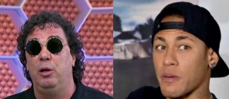 Casagrande chamou Neymar de 'mimado' e foi atacado pelo pai do jogador das redes sociais