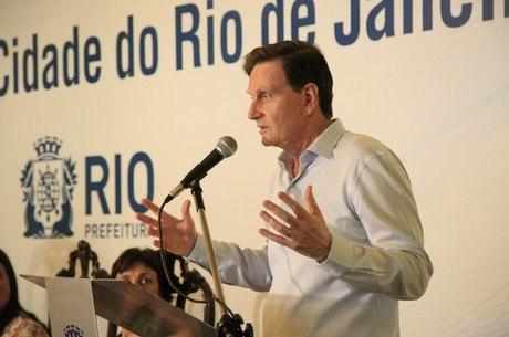 Temer se reuniu com o prefeito do Rio, Marcelo Crivella