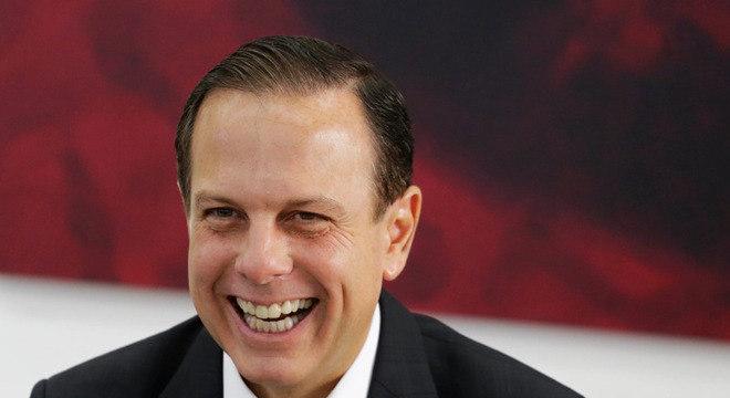 Doria foi escolhido pelo PSDB como candidato do partido ao governo do Estado