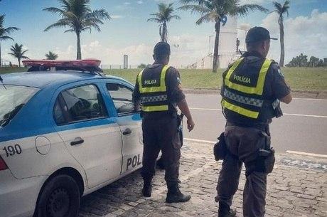 Dois suspeitos morreram após confronto com a PM