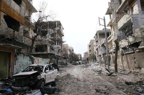 Ghouta: 400 mil pessoas têm vivido sitiadas
