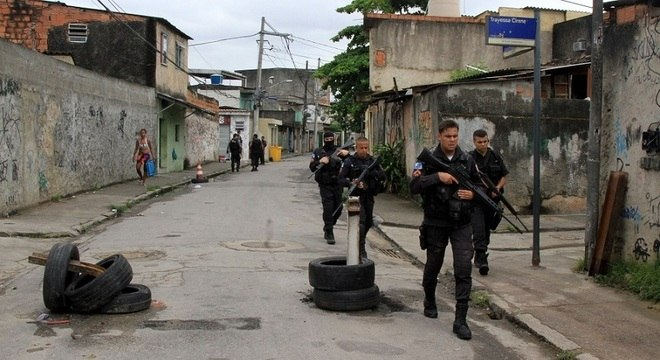Cidade de Deus teve 64 confrontos entre janeiro e fevereiro de 2018, segundo OTT