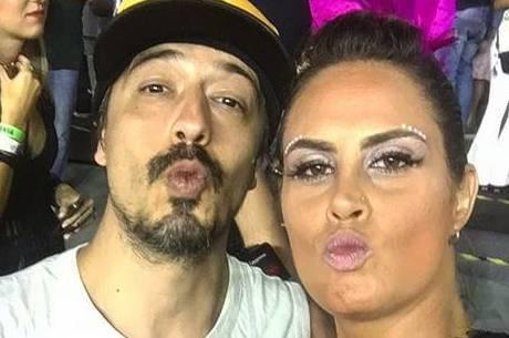 Aritana Maroni e o marido Paulo estão no novo 'Power Couple'