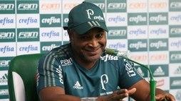 Roger minimiza elogios ao Palmeiras e refuta favoritismo no Paulistão ()