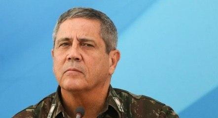 Na imagem, ministro Braga Netto (Defesa)