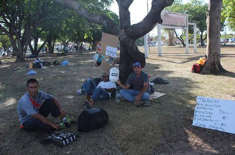 Refugiados que chegam a SP estão em Roraima