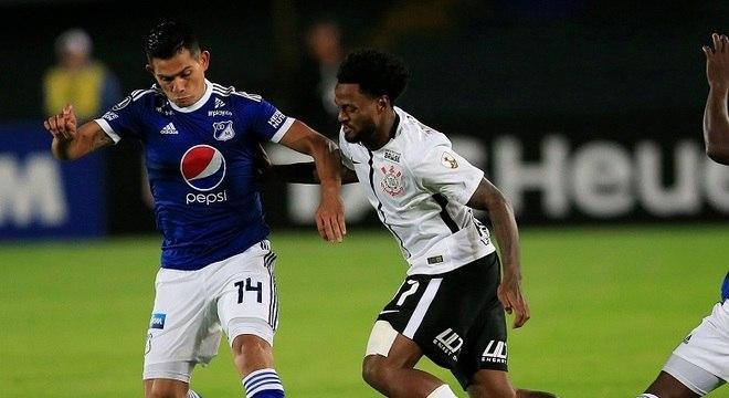 Na Colômbia, Corinthians e Millonarios empataram por 0 a 0