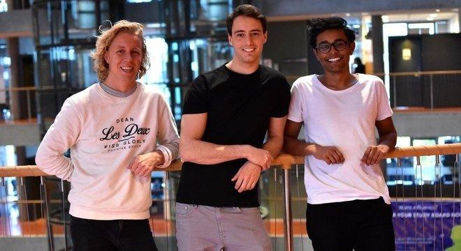 Os três fundadores querem achar uma solução para a distração causada pelos celulares