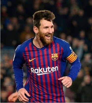 2018/2019 - Messi - Barcelona - 36 gols