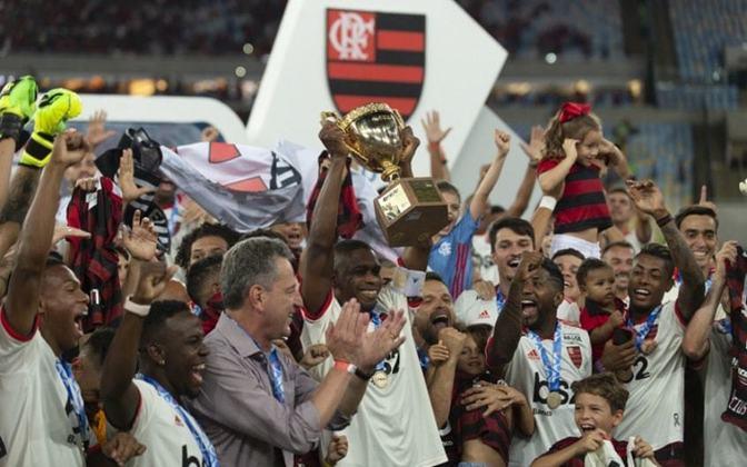 2019 - 35º título estadual do Flamengo - Vice: Vasco