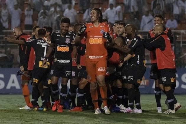 2019 - Chegou na semifinal do Paulistão e eliminou o Santos ao vencer por 2 a 1 na ida (Neo Química Arena) e ser derrotado por 1 a 0 na volta (Pacaembu). A decisão foi para os pênaltis e o Timão levou a melhor.