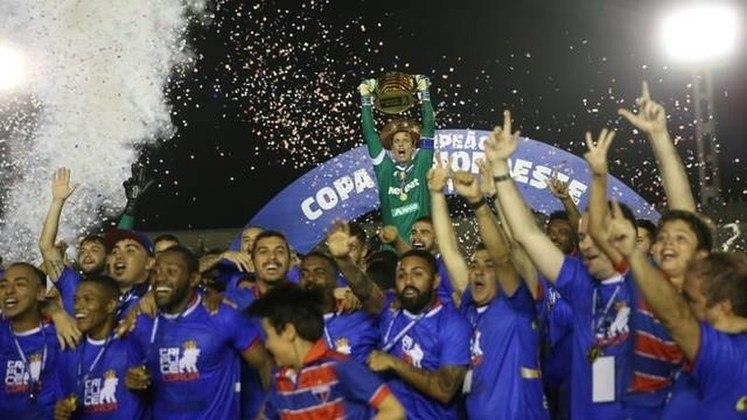 2019 - Fortaleza na Copa do Nordeste