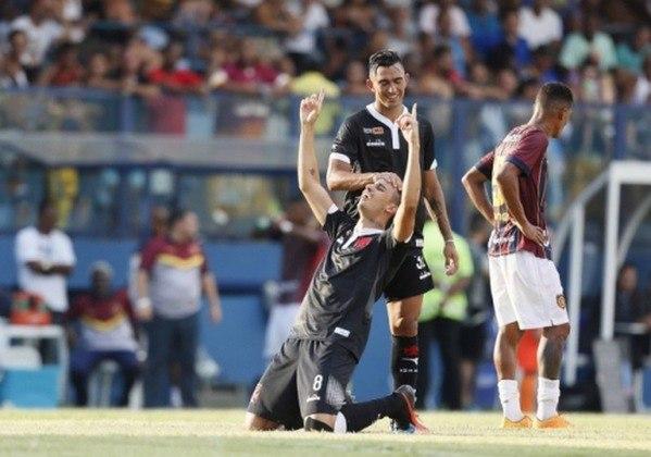 2019 - Madureira 0x1 Vasco - Campeonato Carioca - Conselheiro Galvão - Gol: Thiago Galhardo.