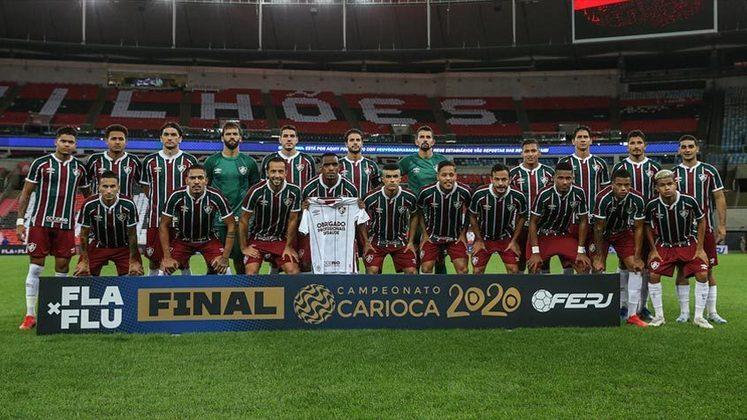 2020 - 2º - Em 2020, o Fluminense foi campeão da Taça Rio, surpreendendo o Flamengo na final e vencendo nos pênaltis. Nas decisões do Estadual, porém, duas derrotas e apenas o segundo lugar.