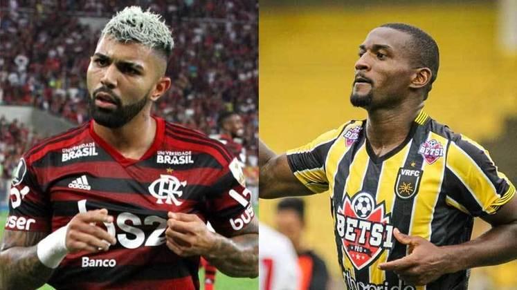 2020 – Gabigol (Flamengo) e João Carlos (Volta Redonda): 8 gols cada