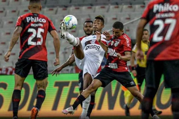 2020 - Pela ida das oitavas, o Flamengo venceu o Athletico-PR por 1 a 0, na Arena da Baixada, com gol de Bruno Henrique e sob o comando de Domènec Torrent. O time paranaense seria eliminado pelo carioca, um ano depois de eliminar o clube da Gávea nas quartas do mesmo torneio.