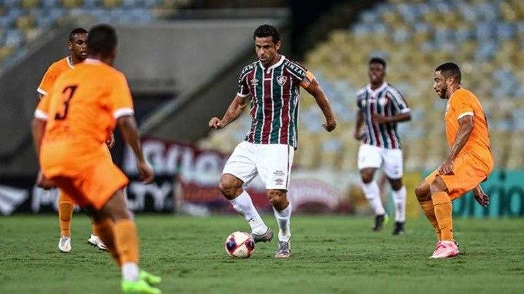 2021 - Fluminense 3x1 Nova Iguaçu, pelo Carioca - Personagem principal da partida após marcar seu gol de número 400 na carreira, Fred enalteceu a marca batida, elogiou a equipe e dedicou o feito para a torcida e os filhos.