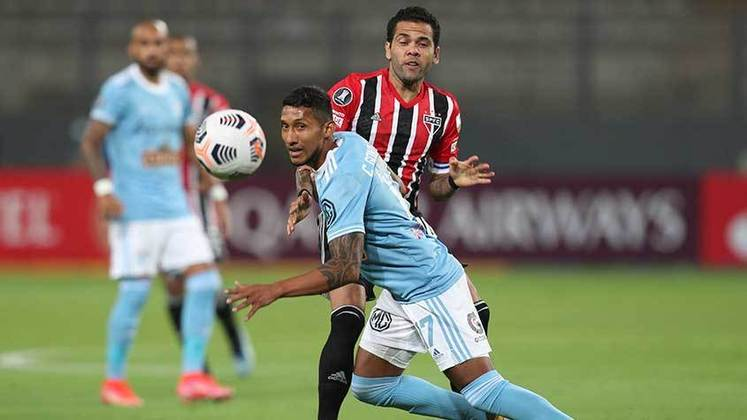 2021 - Sporting Cristal (PER) 0 x 3 São Paulo - O Tricolor goleou em solo peruano. Luan, Benitez e Pablo fizeram os gols.