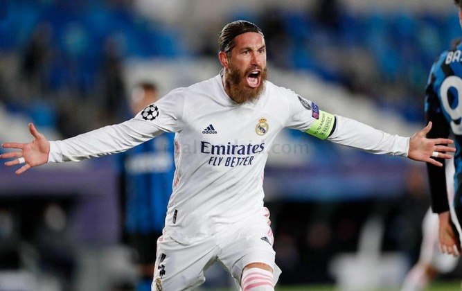 2021/22 - Sergio Ramos - Real Madrid - sem contrato