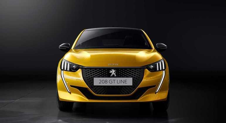 O visual do Peugeot 208 fica ainda mais esportivo na versão GT