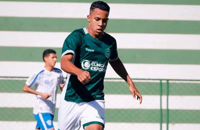 21º - Breno - Time: Goiás - Posição: Meia - Idade: 20 anos - Valor segundo o Transfermarkt: 1 milhão de euros (aproximadamente R$ 6,18 milhões)
