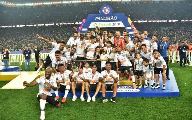 21 de abril de 2019 - Corinthians conquista o Paulistão de 2019 ao bater o São Paulo na decisão.