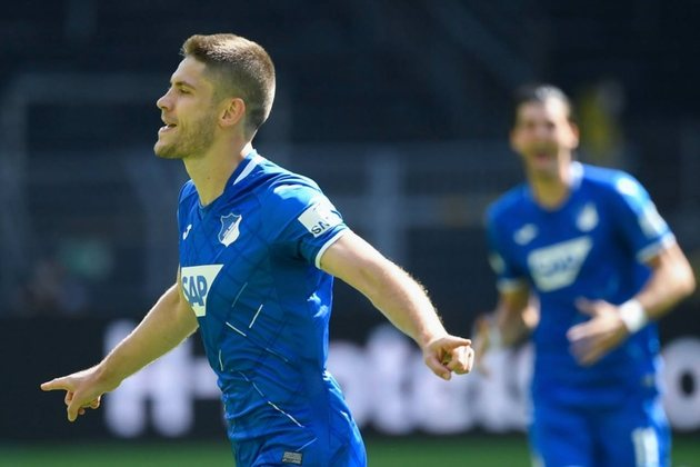 21º lugar: Andrej Kramaric (Hoffenheim) - 19 gols/ 38 pontos