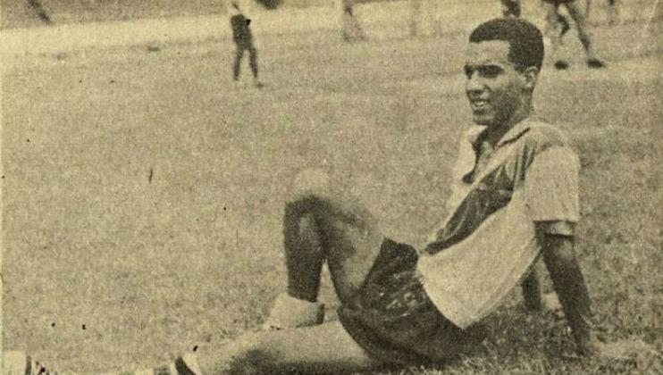 21/06/1961 - Bodens-SUE 1x8 Vasco - Gols do Vasco: Roberto Pinto (foto) (4), Lorico (2), Écio e Saulzinho