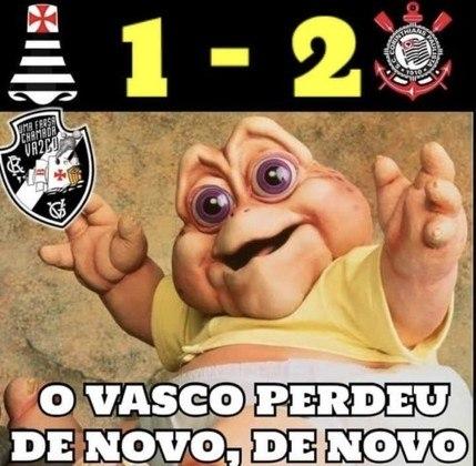 21/10/2020 (18ª rodada) - Vasco 1 x 2 Corinthians