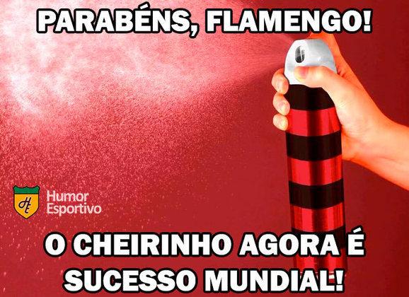 21/12/2019 - O cheirinho de volta! O Flamengo foi derrotado pelo Liverpool na final do Mundial de Clubes da FIFA e o resultado repercutiu nas redes sociais.