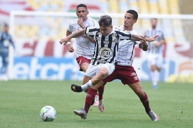 21/2 - 37ª rodada - Santos x Fluminense - Vila Belmiro