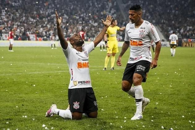 21/4/2019 - Corinthians 2 x 1 São Paulo - Final do Paulistão. Gols: Danilo Avelar e Vagner Love (COR)/Antony (SAO)
