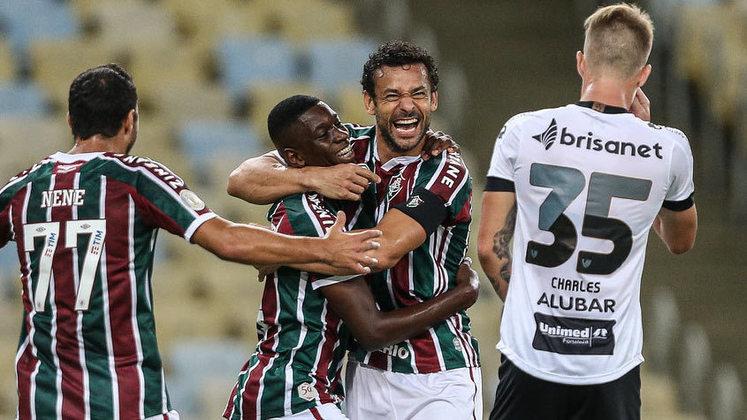 22) A sequência brasileira tem continuidade com o Fluminense, com uma média de 1.684 interações médias por post do Twitter.
