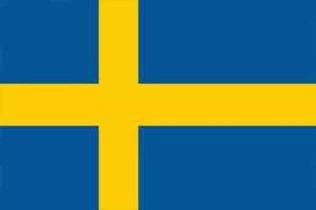 22º lugar - Suécia: 21 pontos (ouro: 3 / prata: 6 / bronze: 0).