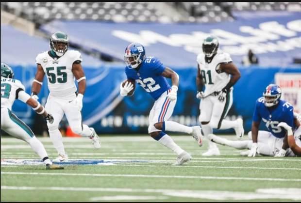 22° New York Giants - A defesa dos Giants encanta e o ataque começou a funcionar. A linha ofensiva está bem menos pior que nas primeiras semanas da NFL.