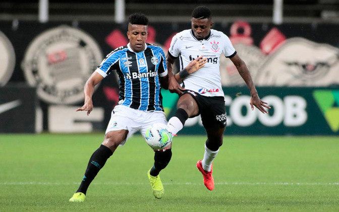 22ª Rodada - Corinthians empata com o Grêmio em 1 a 1 e cai para a 14ª posição (26 pontos). Distância para o G6: 9 pontos.