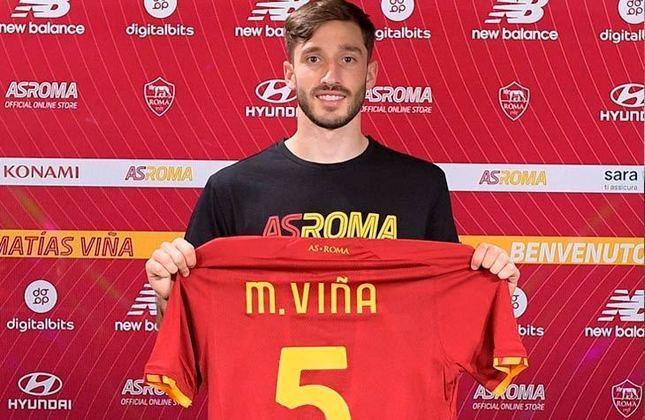 22º - Roma - Valor do elenco segundo o Transfermarkt: 410,1 milhões de euros (aproximadamente R$ 2,51 bilhões)