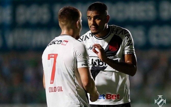 22º -  Vasco 3x2 Atlético-MG - Campeonato Brasileiro 2020. Em uma boa trama do ataque vascaíno, Léo Matos escorou de cabeça e Cano chutou forte para marcar.